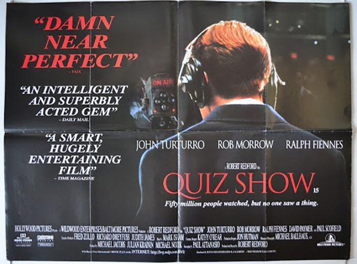 فیلم مسابقهی پرسش و پاسخ (Quiz show)