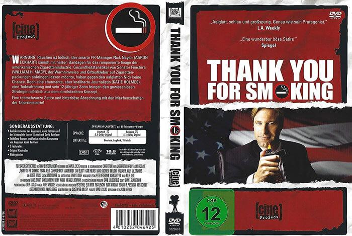 فیلم ممنونم که سیگار میکشی (Thank you for smoking)